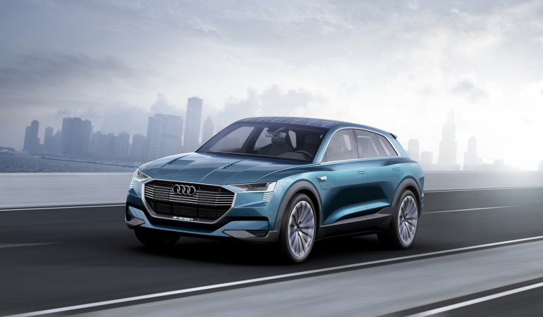 Audi E-Tron Quattro - e-SUV – trafi na rynek w 2018