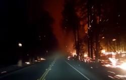 Kalifornijskie pożary wyglądają przerażająco i są nie do opanowania