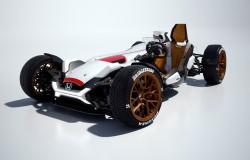 Honda Project 2 & 4. Ciekawy pomysł coś na styl pojazdów Formuły 1.