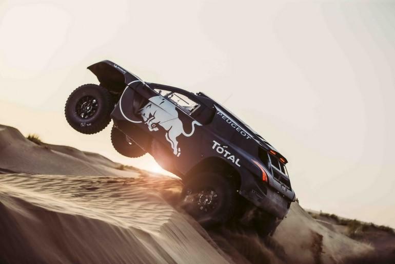 Peugeot 2008 DKR16 przygotowany na Rajd Dakar
