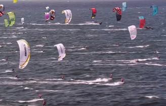 Ekstremalne zawody kitesurfinowe Coast 2 Coast
