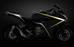 Honda przedstawiła zdjęcia motocykla CBR500R.