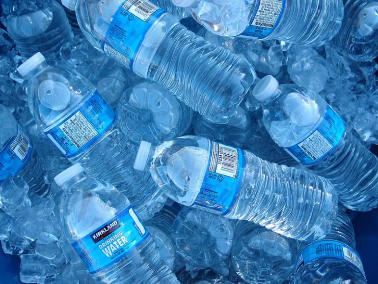 Pij wodę podczas treningu