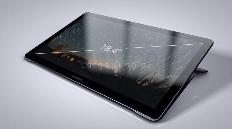 Samsung Galaxy View 18.4 calowy tablet w cenie $ 599