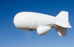 Amerykański wojskowy balon urwał się z uwięzi