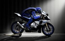 Motobot Yamaha robot na motocyklu