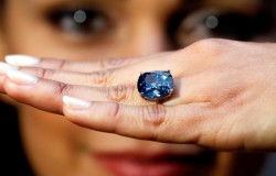 Najdroższy diament sprzedany na aukcji