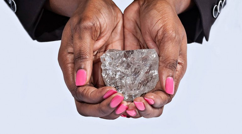 Drugi największy diament na świecie odkryto w Botswanie