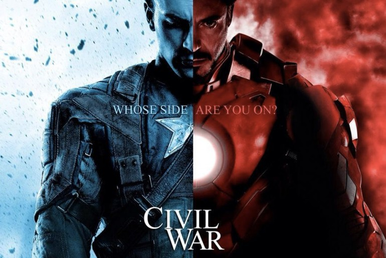 Kapitan Ameryka Civil War pierwszy trailer filmu