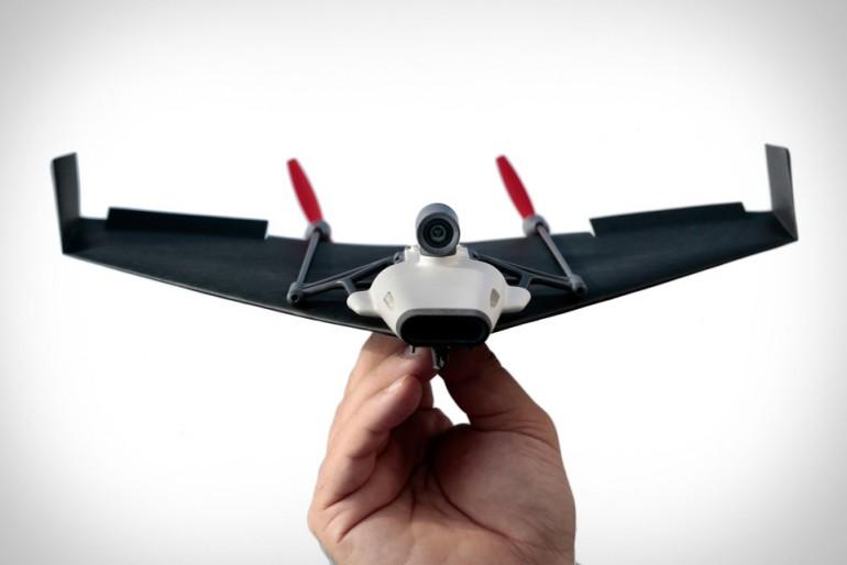 PowerUp FPV papierowy dron sterowany za pomocą głowy
