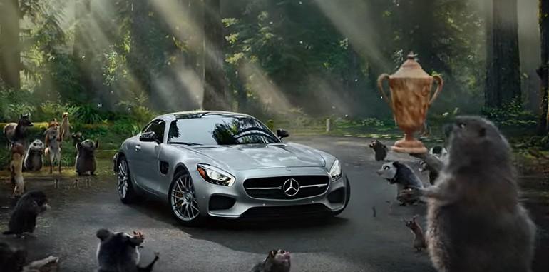 Zabawna reklama Mercedesa AMG GT S