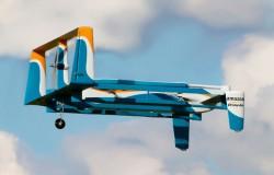 Amazon zaprezentował nowego drona do dostarczania przesyłek.