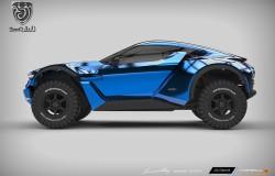 SandRacer niesamowity samochód za 100 000$