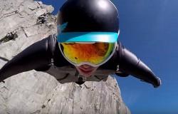 Lot w skafandrze Wingsuit 2500 metrów