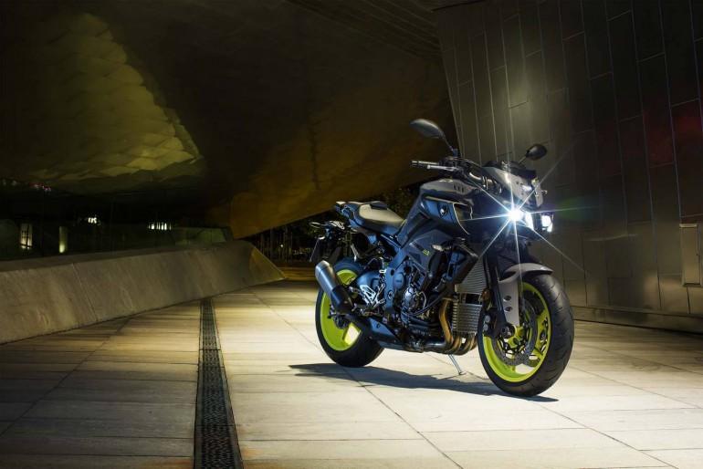 Futurystyczny motocykl: Yamaha i nowy MT-10