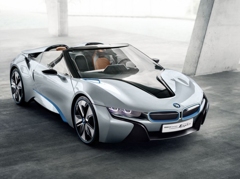 BMW i8 Spyder wkrótce pojawi się na rynku