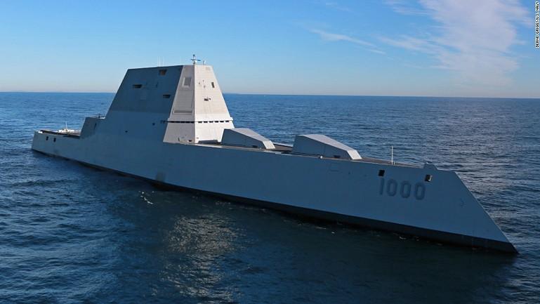 USS Zumwalt najnowocześniejszy niszczyciel na morzu