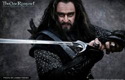Miecz Thorina Orcrist z Hobbita jak wykonać replikę