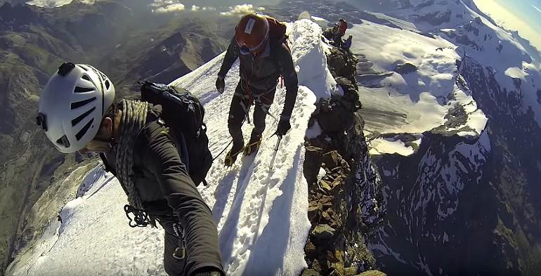 Matterhorn jeden z najbardziej przerażających szczytów