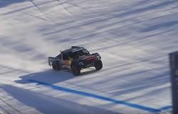 Red Bull Frozen Rush 2016 kwalifikacje z lotu ptaka
