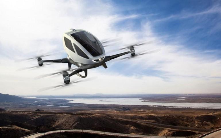 Pierwszy pasażerski dron Ehang 184