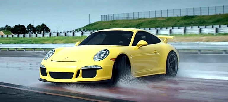 Porsche 911 GT3 w filmie