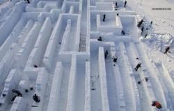 Największy śnieżny labirynt powstaje w Polsce