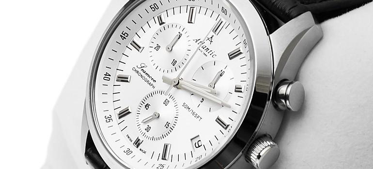 Atlantic Seamove męski zegarek o sportowym charakterze