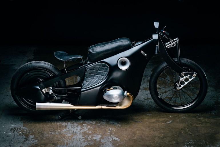 BMW Landspeeder niezwykły motocykl Revival Cycles