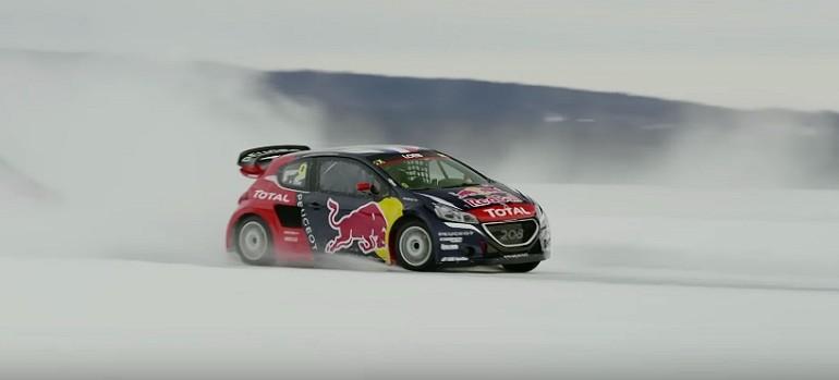 Sebastian Loeb w mroźnym wyścigu
