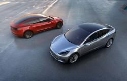 Tesla Model 3 pierwszy zarys auta