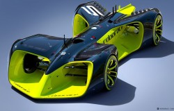 Roborace koncepcja wyścigów samochodowych autonomicznych