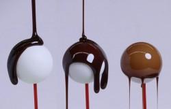 Wzór na grubość warstwy czekolady na cukierku