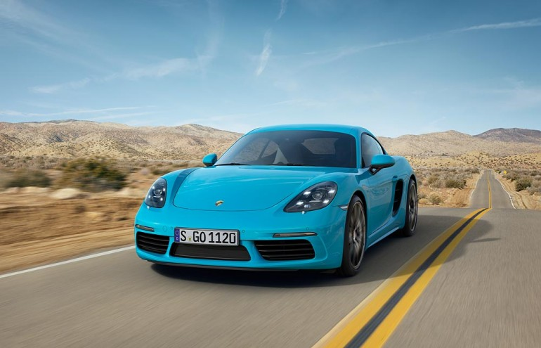 Porsche 718 Cayman z nowym silnikiem z turbodoładowaniem