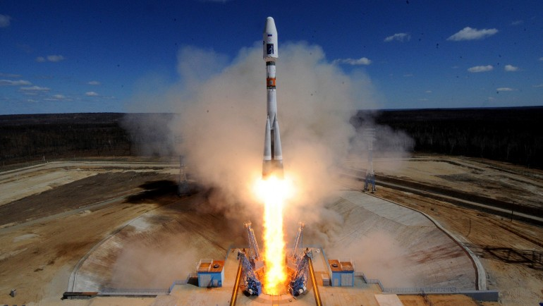 Pierwszy start rakiety z nowego kosmodromu Vostochny w Rosji