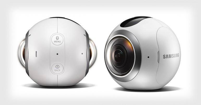 Samsung Gear 360 Aparat 360 stopni