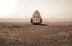 SpaceX planuje wysłać kapsułę na Marsa w 2018 roku.