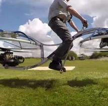 Colin Furze stworzył Hoverbike  [video]