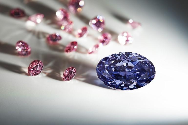 Rzadki fioletowy diament znaleziono w Australii