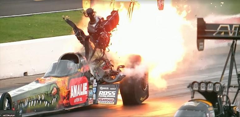 Silnik o mocy 10000 KM eksploduje podczas wyścigu