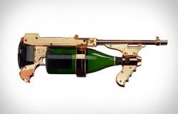 Champagne Gun pistolet maszynowy na szampana