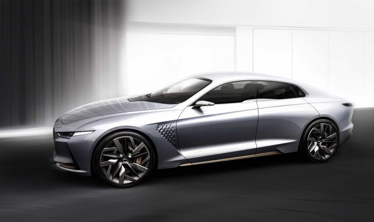 Hyundai Genesis nowa koncepcja hybrydowa