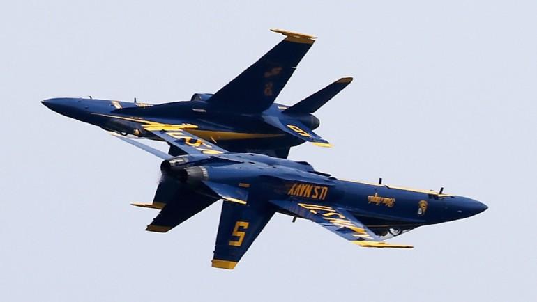 Mysliwiec US Navy Blue Angels rozbił się podczas ćwiczeń