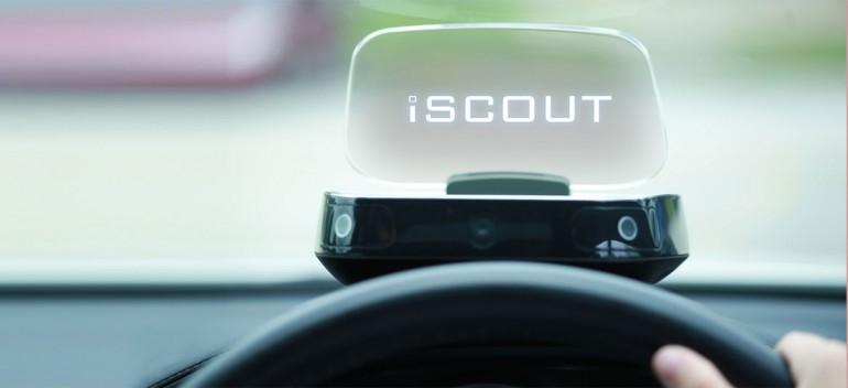 iScout HUD kolejny heads-up dla kierowcy