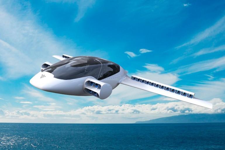 Lilium pierwszy elektryczny samolot pionowego startu