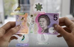 Niesamowity nowy banknot Australii 5 dolarów