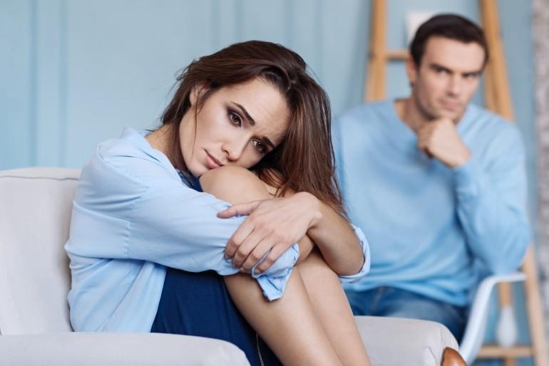 Kłutnie, obrażanie się, problemy w związku