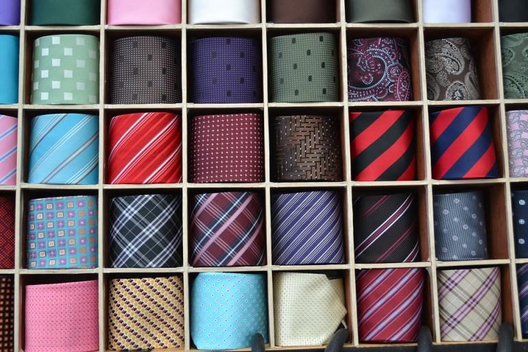 Jeden krawat to za mało.