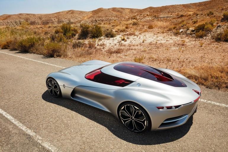 Renault Trezor Concept prawie jak kosmiczny pojazd